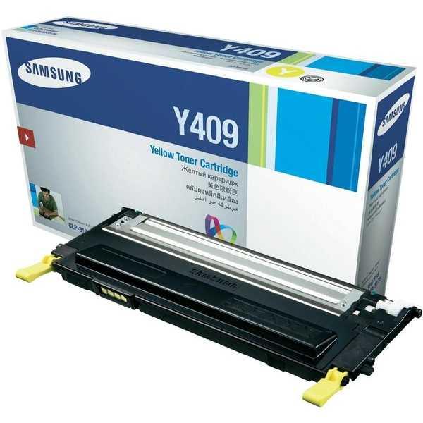originální toner Samsung CLT-Y4092S yellow žlutý originální toner pro tiskárnu Samsung CLP-310