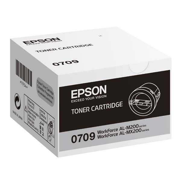 originální toner Epson C13S050709 (M200) black černý toner černý pro tiskárnu Epson WorkForce AL-MX200DWF