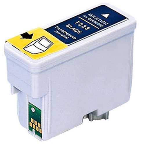 kompatibilní s Epson T038 (T03814A) black cartridge černá inkoustová náplň pro tiskárnu Epson Stylus C43 SX