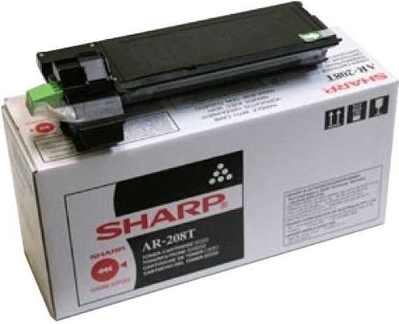 originální toner Sharp AR-208T černý toner pro tiskárnu Sharp AR-M 200