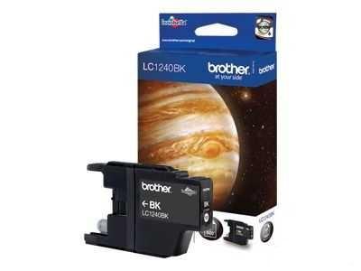 originální Brother LC-1240BK black černá originální inkoustová cartridge pro tiskárnu Brother DCP-J925DW