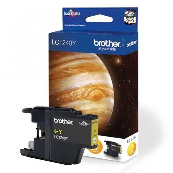 originální Brother LC-1240Y yellow žlutá originální inkoustová cartridge pro tiskárnu Brother MFC-J6510DW