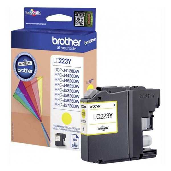 originální Brother LC-223 Y yellow cartridge žlutá originální inkoustová náplň pro tiskárnu Brother MFC-J4625DW