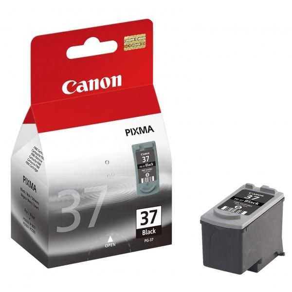 originální Canon PG-37 black černá originální inkoustová cartridge pro tiskárnu Canon PIXMA MP470