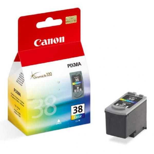originální Canon CL-38 color barevná originální inkoustová náplň cartridge pro tiskárnu Canon PIXMA iP1800