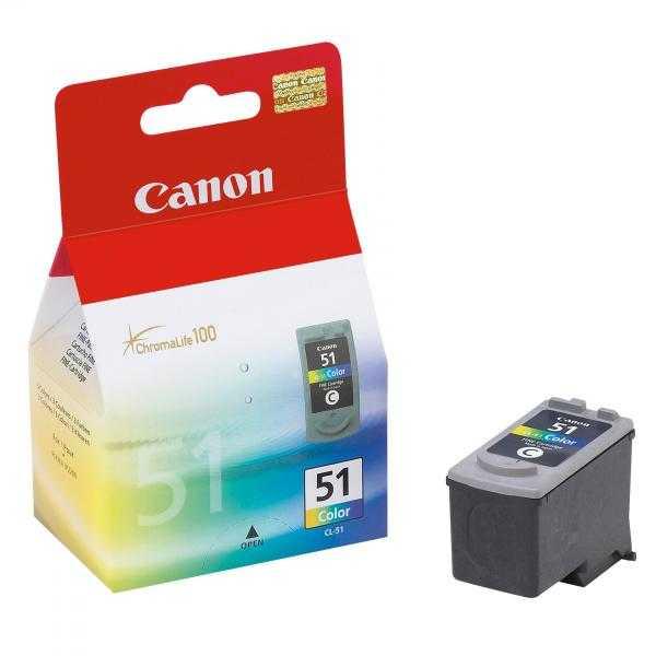 originální Canon CL-51 color barevná originální inkoustová náplň pro tiskárnu Canon PIXMA iP2200