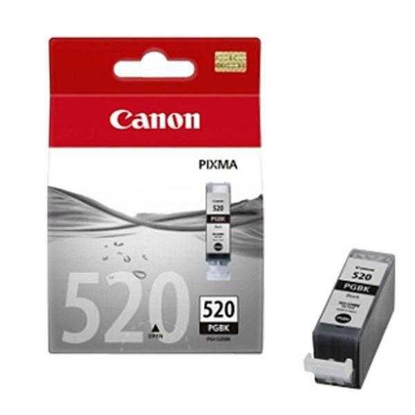 originální Canon PGI-520bk black cartridge černá originální inkoustová náplň pro tiskárnu Canon PIXMA MP540