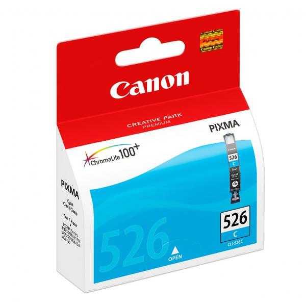 originální Canon CLI-526c cyan cartridge modrá azurová originální inkoustová náplň pro tiskárnu Canon Pixma MG5350