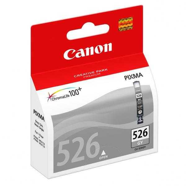 originální Canon CLI-526gy grey cartridge šedá originální inkoustová náplň pro tiskárnu Canon PIXMA IX6550
