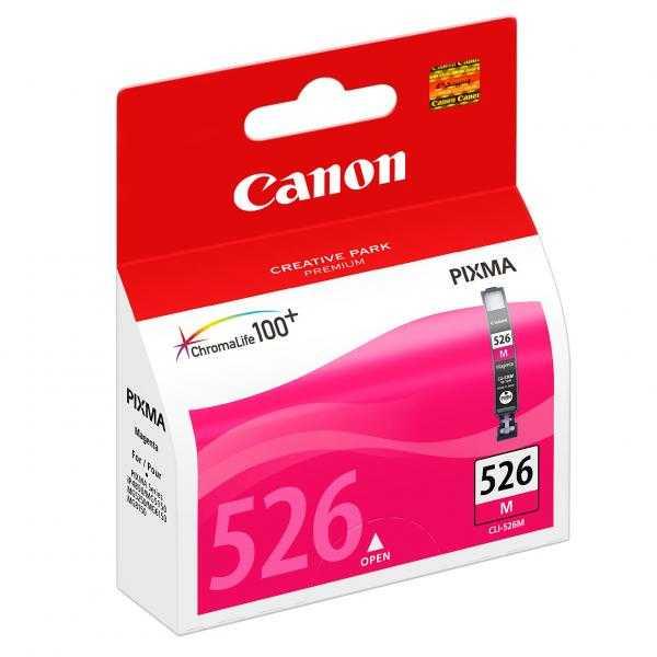 originální Canon CLI-526m magenta cartridge purpurová originální inkoustová náplň pro tiskárnu Canon Pixma MG5350