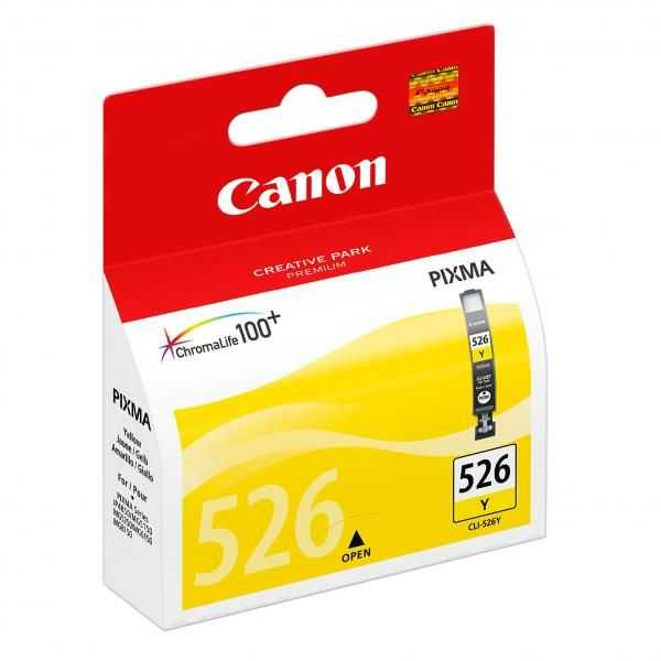 originální Canon CLI-526y yellow cartridge žlutá originální inkoustová náplň pro tiskárnu Canon PIXMA iP4950