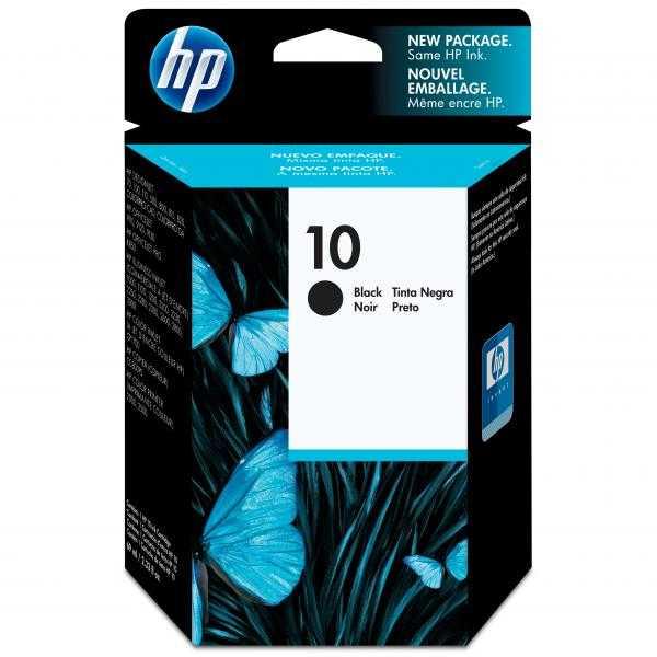 originálnní HP10 (C4844A) black cartridge originální inkoustová náplň pro tiskárnu HP DesignJet 110plus