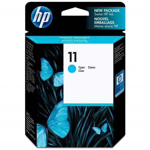 originální HP11 (C4836A) cyan cartridge originální azurová inkoustová náplň pro tiskárnu HP Business InkJet 1200d