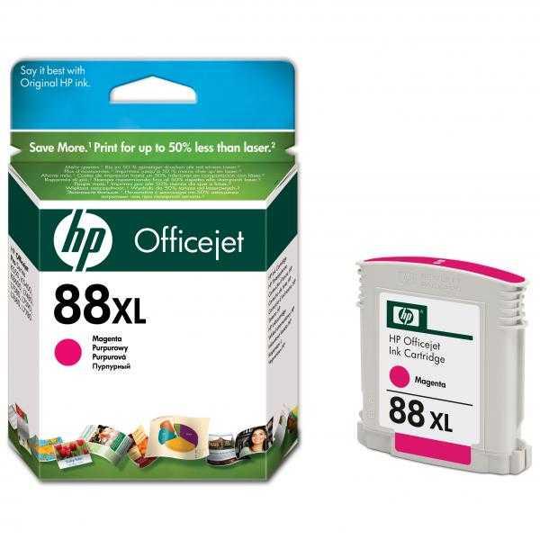 originální HP88 magenta C9392A cartridge červená purpurová inkoustová originální náplň pro tiskárnu HP OfficeJet Pro L7780