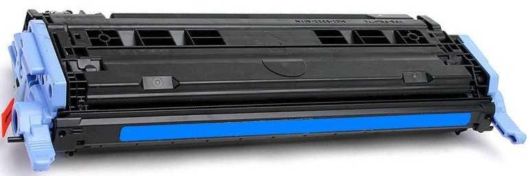 kompatibilní toner s HP Q6001A, HP 124A cyan modrý azurový toner pro tiskárnu HP Color LaserJet 1600