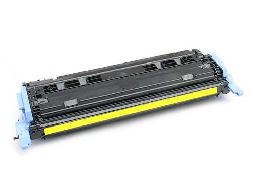 kompatibilní toner s HP Q6002A, HP 124A yellow žlutý toner pro tiskárnu HP Color LaserJet 1600