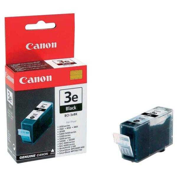 originální Canon BCI-3ebk 30 ml black cartridge černá originální inkoustová náplň pro tiskárnu Canon S6300