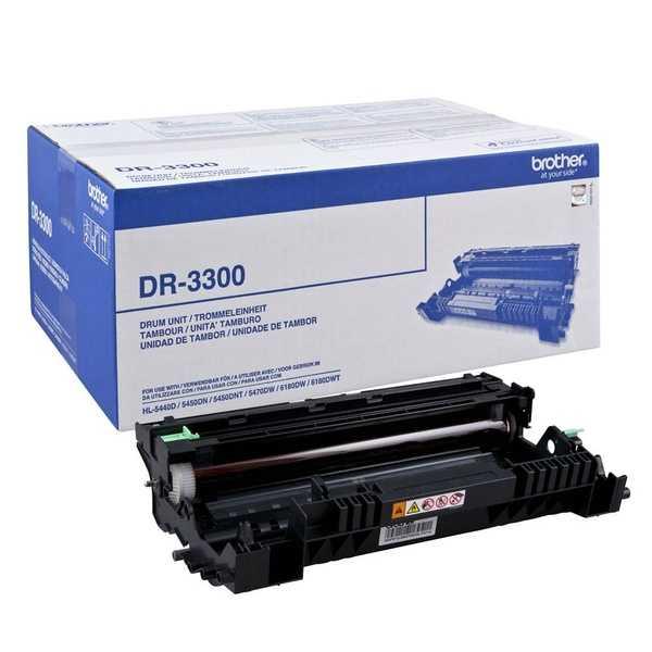 originální válec Brother DR-3300 drum optický válec pro tiskárnu Brother HL-6180DWT