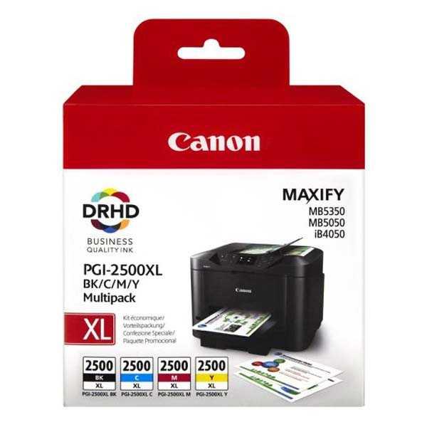 originální set Canon PGI-2500XL sada cartridge originální inkoustové náplně pro tiskárnu Canon Maxify MB 5350
