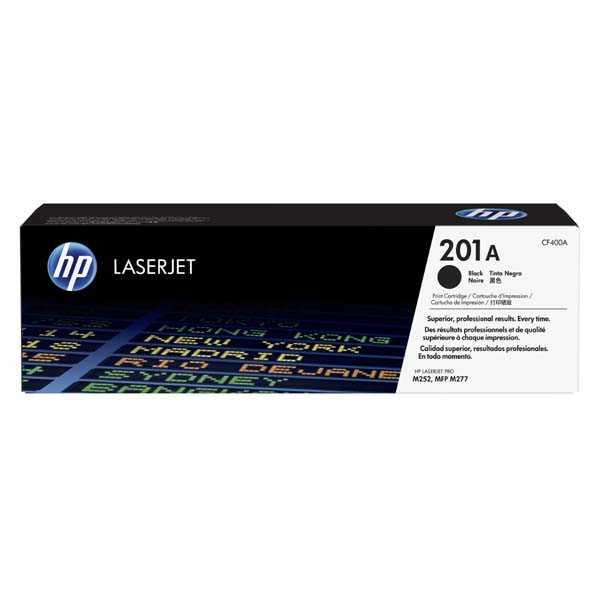 originální toner HP CF400X (HP 201X) 2800 stran black černý toner pro tiskárnu HP LaserJet Pro 200 Color MFP M277dw