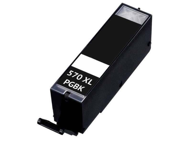 kompatibilní cartridge s Canon PGI-570BK black cartridge černá inkoustová náplň pro tiskárnu Canon Pixma MG7753