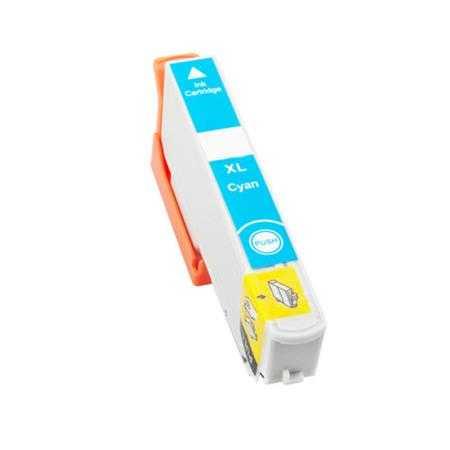 kompatibilní s Epson 33XL T3362 cyan cartridge modrá azurová inkoustová náplň pro tiskárnu Epson Expression Premium XP-530