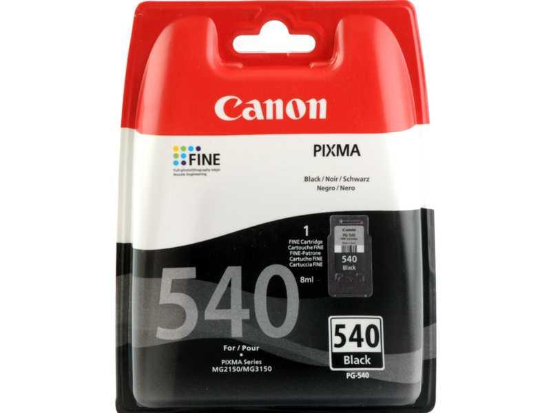 originální Canon PG-540 black černá cartridge inkoustová náplň pro tiskárnu Canon PIXMA MX395