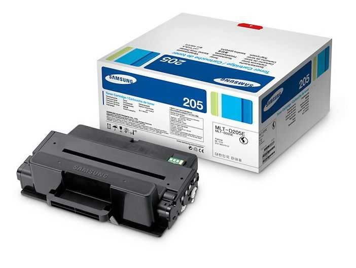originální Samsung MLT-D205E (10000 stran) černý originální toner do tiskárny Samsung SCX-5739FW
