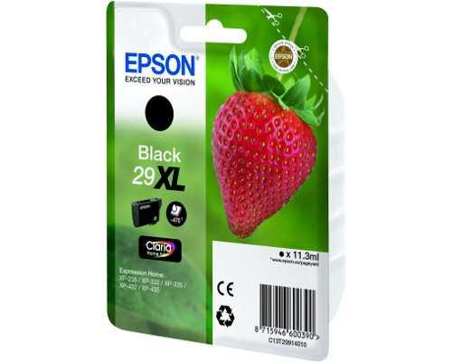 originální Epson T2991 T29XL black cartridge černá inkoustová náplň pro tiskárnu Epson Expression Home XP-332