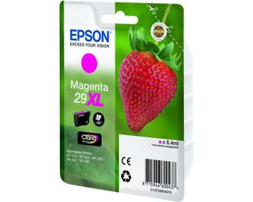 originální Epson T2993 T29XL magenta cartridge červená purpurová inkoustová náplň pro tiskárnu Epson Expression Home XP-235