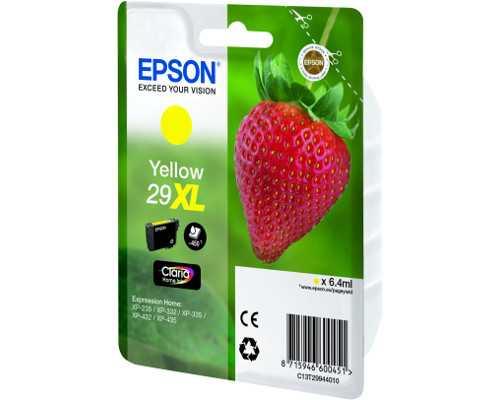 originální Epson T2994 T29XL yellow cartridge žlutá inkoustová náplň pro tiskárnu Epson Expression Home XP-332