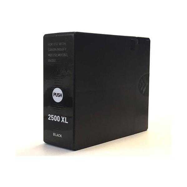 kompatibilní s Canon PGI-2500XL bk black cartridge černá inkoustová náplň pro tiskárnu Canon Maxify MB 5350