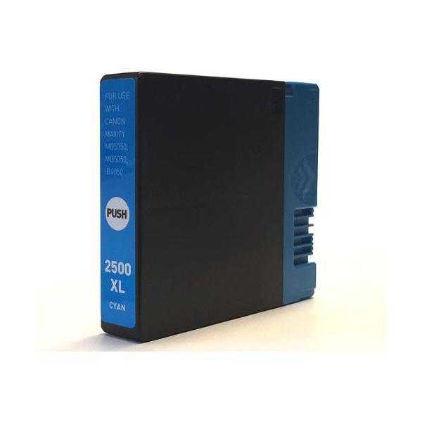 kompatibilní s Canon PGI-2500XL c cyan cartridge modrá azurová inkoustová náplň pro tiskárnu Canon Maxify MB 5350