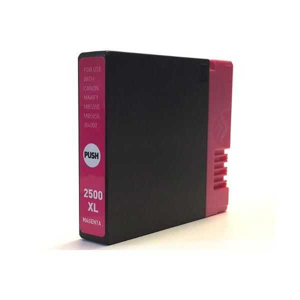 kompatibilní s Canon PGI-2500XL m magenta cartridge purpurová červená inkoustová náplň pro tiskárnu Canon Maxify MB 5350