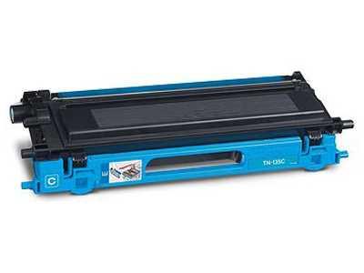 kompatibilní toner s Brother TN-135C cyan azurový toner pro tiskárnu Brother DCP-9040CN