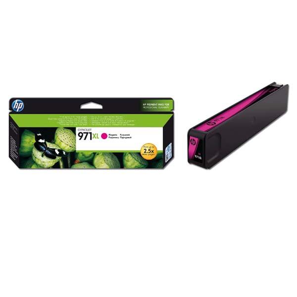 originální HP 971XL (CN627AE) magenta purpurová originální inkoustová cartridge pro tiskárnu HP OfficeJet Pro X476dw