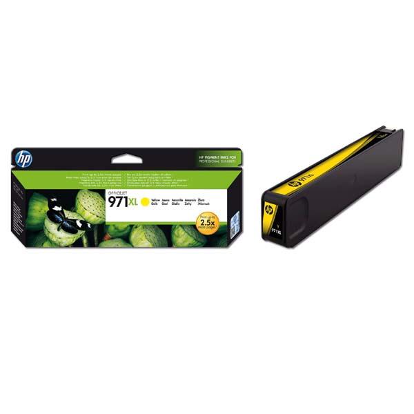 originální HP 971XL (CN628AE) yellow žlutá originální inkoustová cartridge pro tiskárnu HP OfficeJet Pro X476dw