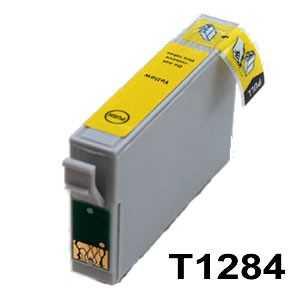 kompatibilní s Epson T1284 yellow cartridge žlutá inkoustová náplň pro tiskárnu Epson Stylus SX435W