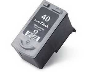 Canon PG-40 black černá cartridge kompatibilní inkoustová náplň pro tiskárnu Canon FAX-JX500