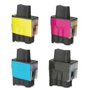 sada Brother LC-900 cartridge kompatibilní inkoustová náplň pro tiskárnu Brother DCP-120C