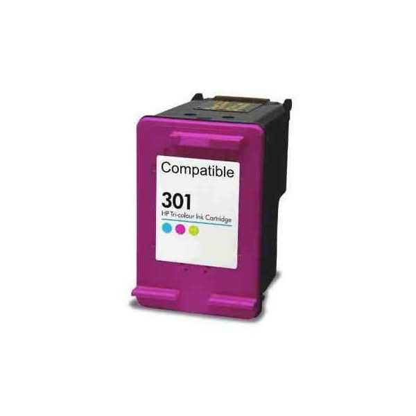 HP 301XL (CH564EE) color barevná kompatibilní inkoustová cartridge pro tiskárnu HP DeskJet 3050a
