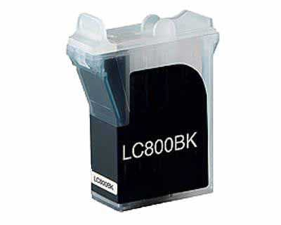 kompatibilní s Brother LC800BK black černá inkoustová cartridge pro tiskárnu Brother MFC-3820CN