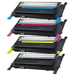 sada kompatibilních tonerů s Samsung CLT-P4092C (CLT-K4092S, CLT-C4092S, CLT-M4092S, CLT-Y4092S) 4x tonery pro tiskárnu Samsung CLX-3175FW
