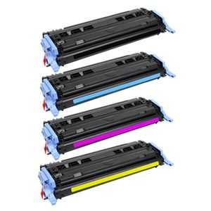 sada tonerů kompatibilních s Canon CRG-707 bk,c,m,y - 4x toner pro tiskárnu Canon LBP5000