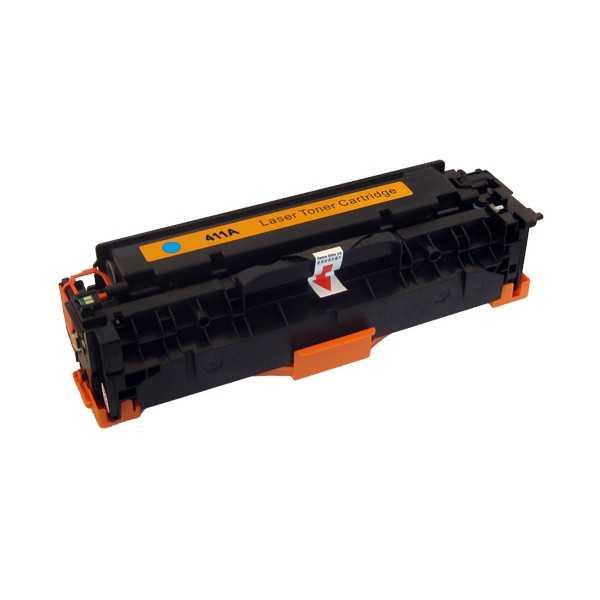 kompatibilní toner s HP CE411A (HP 305A) cyan modrý azurový toner pro tiskárnu HP LaserJet Pro 400 M475dw