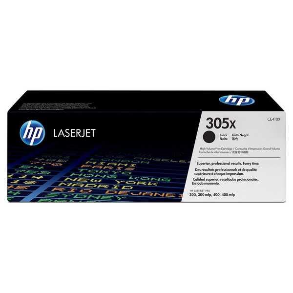 originální toner HP CE410X (HP 305A) black černý toner pro tiskárnu HP LaserJet Pro 400 M475dw