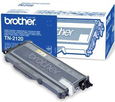 originál Brother TN-2120 černý originální toner pro tiskárnu Brother MFC-7340