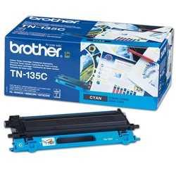 originál Brother TN-135C cyan modrý azurový originál toner pro tiskárnu Brother MFC-9440CN