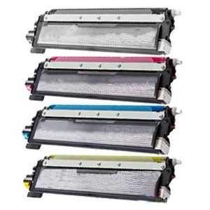 sada kompatibilních tonerů s 4x Brother TN-230BK, TN-230C, TN-230M, TN-230Y tonery pro tiskárnu Brother MFC-9120CN