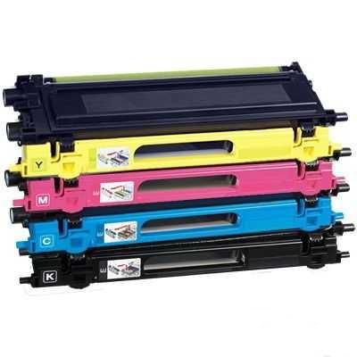 sada kompatibilních tonerů s 4x Brother TN-325BK, TN-325C, TN-325M, TN-325Y tonery pro tiskárnu Brother MFC-9560CDW